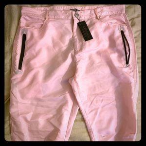 Pink sporty pants